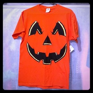 Halloween Jack-o'-lantern men's medium T-shirt